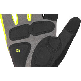 PEARL iZUMi Elite Gel Softshell Gloves screaming yellow